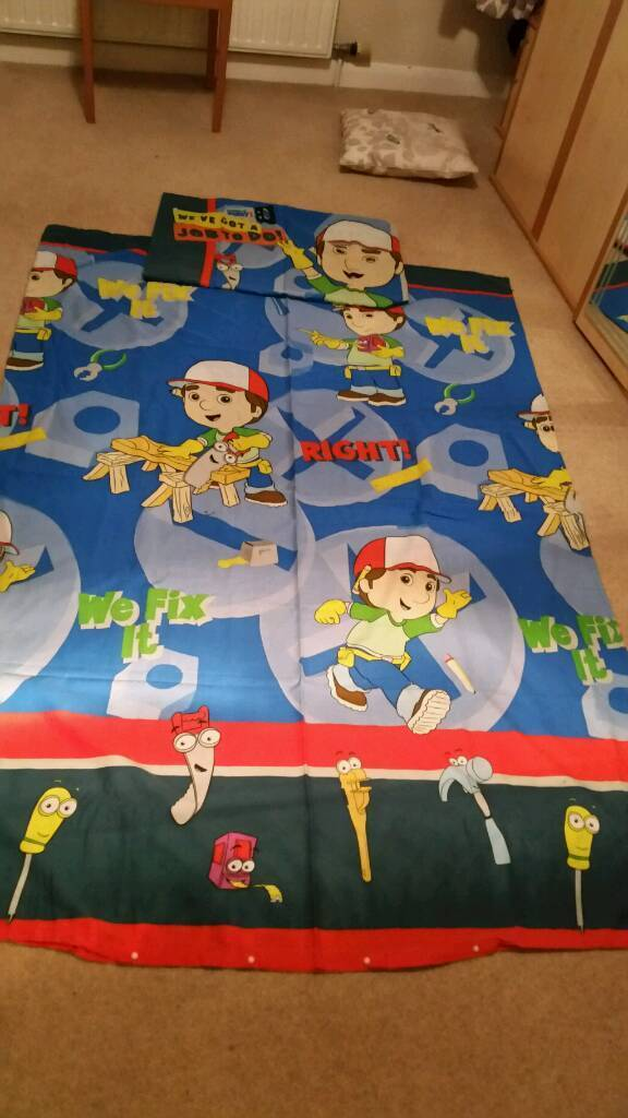 Handy Manny Single Duvet set