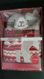 BNIB - Cat hottie (M&S) RRP £25
