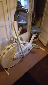 Exercise Bike with arm exerciser.