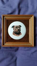 Hand Painted Staffordshire Bull Terrier