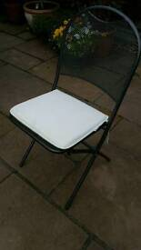 Kettler cafe Napoli folding bistro chairs