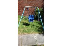 baby garden swing