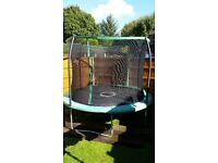 10ft SportPower Trampoline with Safety Net