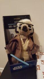 Jedi Meerkat Comapre the Market soft toy