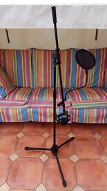 Stagg Microphone Mic Stand AKG-H-100 Shock Mount and Double Mesh Filter