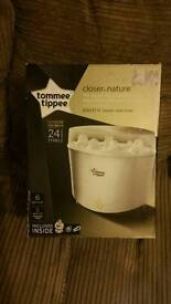 New in box! Tommee tippee electric steam steriliser