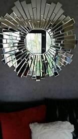 Very heavy mirror