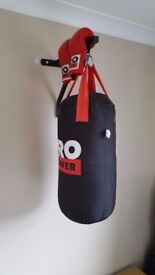 Boxing Punch Bag wall mounted