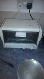 Halogen toaster