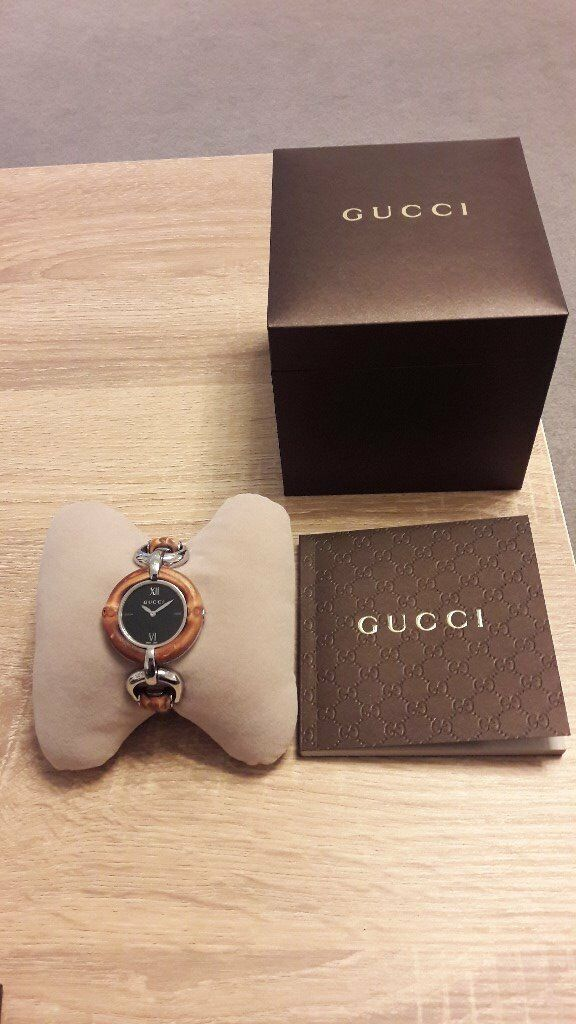 0ab753b170d Beautiful Ladies Gucci Bamboo Watch