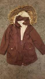 Girls coat age 7