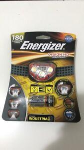 Energizer Vision HD Headlight Headlamp 180 Lumens - NEW