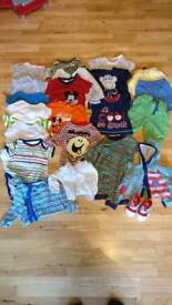Baby boy clothing bundle 3-6 months