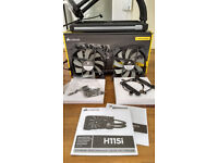 Corsair Hydro Series H115i 280mm Extreme Performance Liquid CPU Cooler (used)