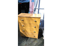 large 4 drawer chest