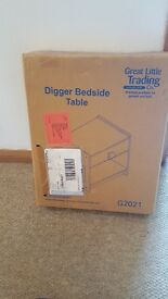 Great little trading company digger bedside table