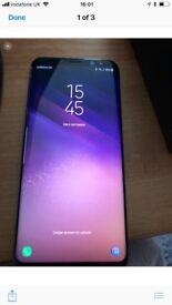 Samsung Galaxy s8+ 64gig