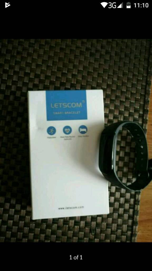 Letscom smart bracelet | in Leicester, Leicestershire | Gumtree
