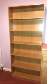 Bookshelf - like new (Size H180, W78, D20cm.)