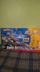Hotwheels bionic battle