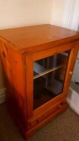Hifi Cabinet - Glass Fronted
