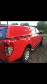 Red 2012 Ford Ranger XLT