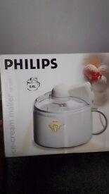 Phillips Ice Cream Maker