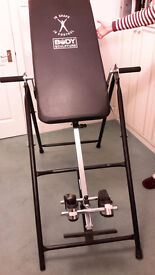 Body Sculpture - Inversion Table for back pain and gravity therapy