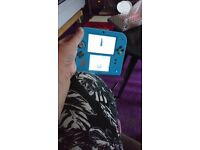 Pokemon blue 2ds console