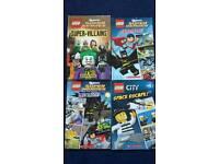 Lego and superhero books