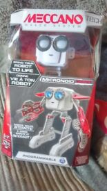 Meccanno Micronoid Programmable Socket NEVER OPENED!