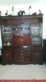 Coyle mahogany dining room, cabinet