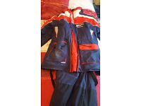 sundridge entec 2 piece flotation suit