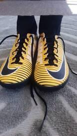 Football boots astroturf
