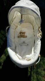 Moses basket mothercare