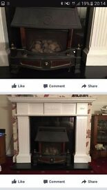 Gas fire fab condition