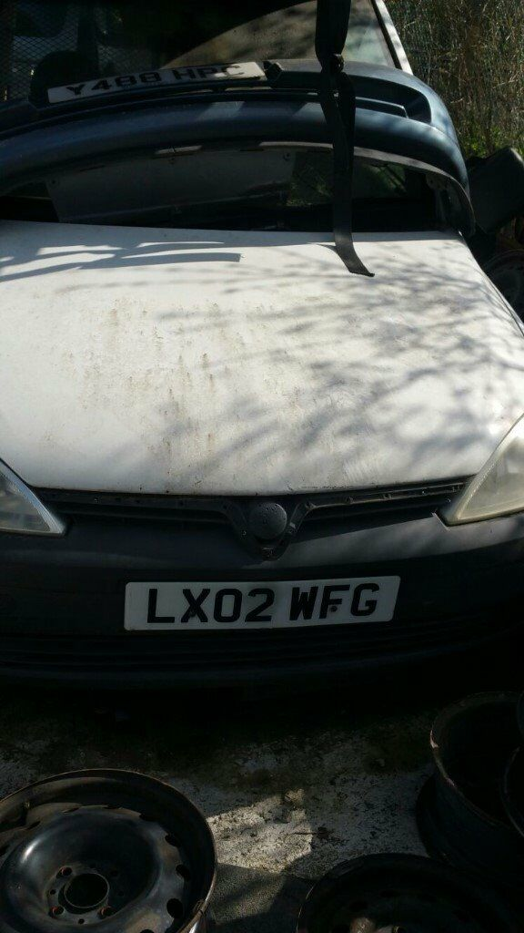 2002 VAUXHALL COMBO 1700 DI (MANUAL DIESEL)- FOR PARTS ONLY