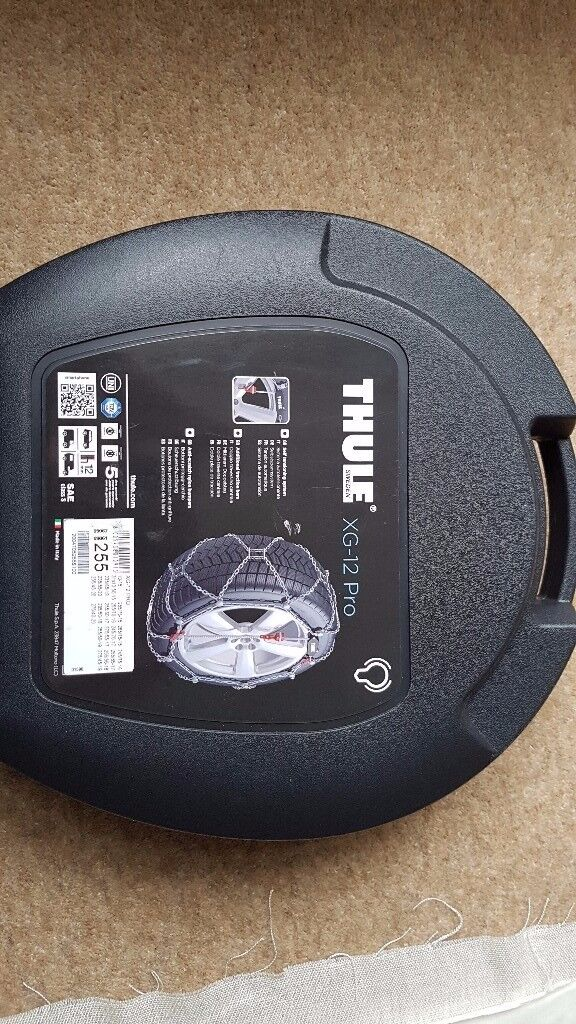 Snowchains Thule XG-12 Pro size 255