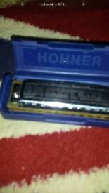 Blues harp ms with neck rest