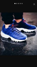 nike air max 95 hyperfuse stussy blue and white all sizes paypal delivery BNIB x