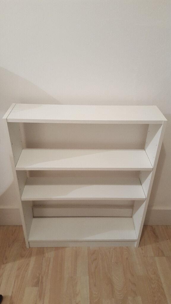 Argos HOME Baby Bookcase White Small Bookshelf