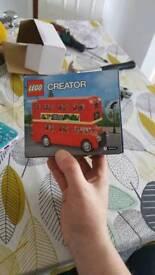 Lego creator london bus limited edition