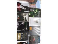 9 VARIOUS MUSIC DVD'S FOR SALE - £3.00 each or £20.00 for all 10