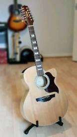 Takamine EG523SC-12 Jumbo Cutaway 12-String Acoustic-Electric Guitar - Natural