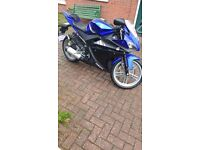 PERFECT YAMAHA YZF R125 WITH VERY LOW MILLAGE, GREAT FOR FIRST TIME RIDERS