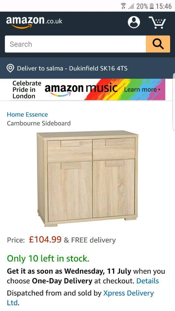 Brand New Sand Oak Cambourne Sideboard In Dukinfield Manchester Gumtree