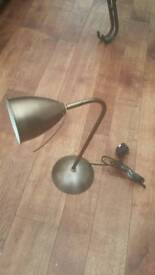 Metal angle lamp