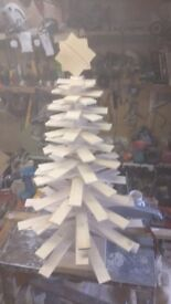 Handcrafted Christmas tree