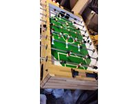 Table football game.