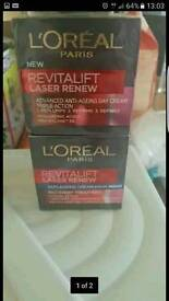Loreal face cream day and night
